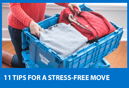 11 Tips For A Stress Free Move