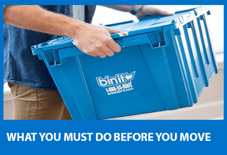 What You Must Do Before You Move